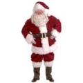 Rental store for SANTA SUIT W BEARD WIG GLASS GLV in North Wilkesboro NC