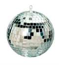 Rental store for MIRROR BALL 16  W  2 SPOT LIGHTS in North Wilkesboro NC